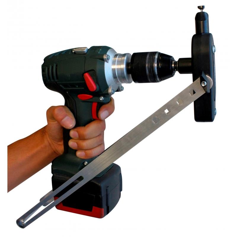 NIBBLEX UNIVERSAL - Power drill attachment nibbler shears