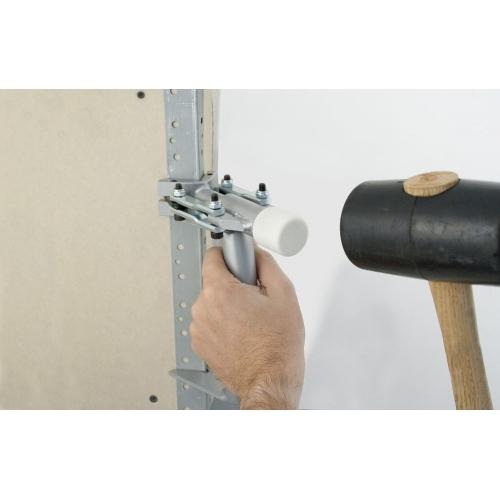 CORNER FIX - Hand tool for fixing metal corner beads
