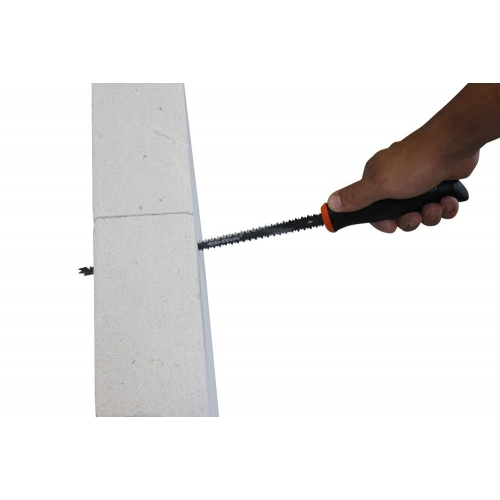 """CROCOPLAC II - 10"""" (250 mm) jab saw with teeth on both sides and holster included"""