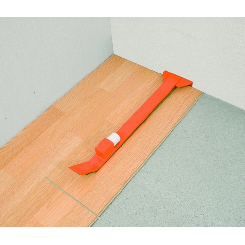 SUPER TAK-TIK - Professional pulling bar for laminate flooring installation (click-together design)