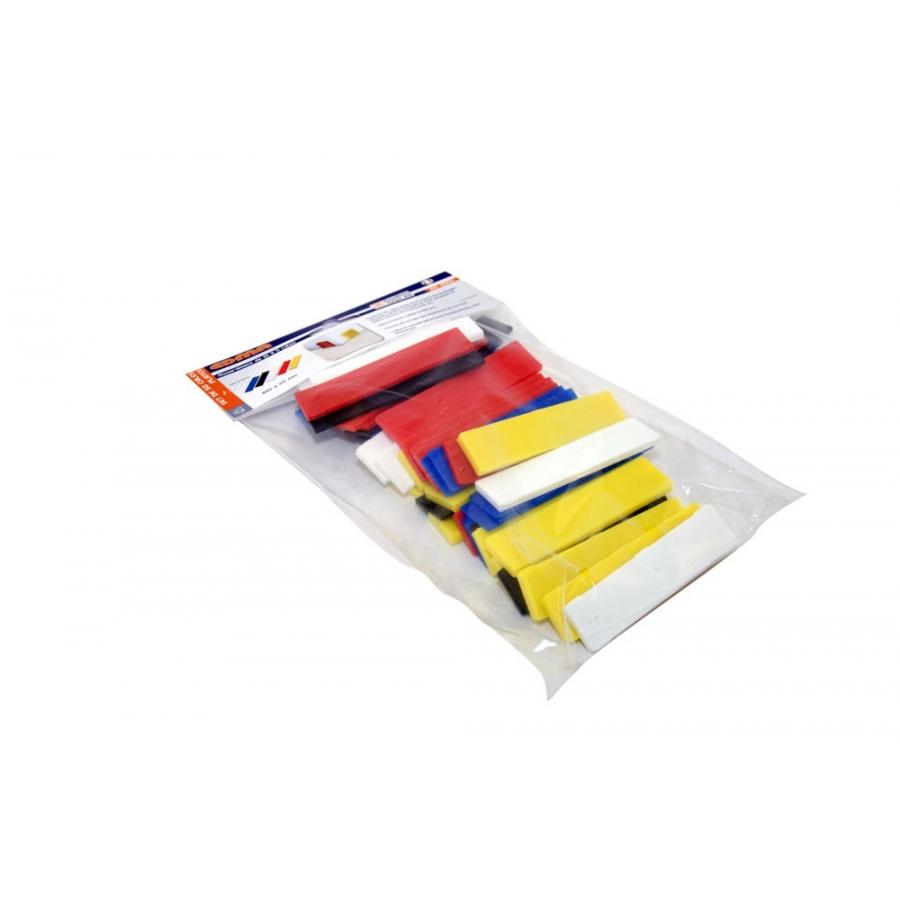 50 Pcs Flat Shims Set 5 X 10 Wedges Edmatools