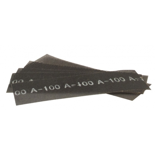 "10 PCS OF ABRASIVE MESH SANDING SHEETS  11.4"" x 3.9"" (290 x 100 MM) - Grit 120"