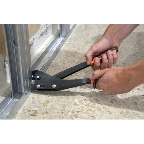 PROFIL - Section setting pliers for studs and tracks