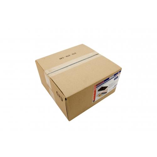 "BOX OF 100 BROWN WEDGES - 39/16"" x 13/4"" x 9/16"" (90 x 45 x 15 mm)"
