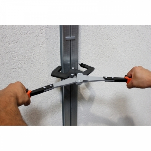 TWIN PROFIL - Section setting pliers for back-to-back studs