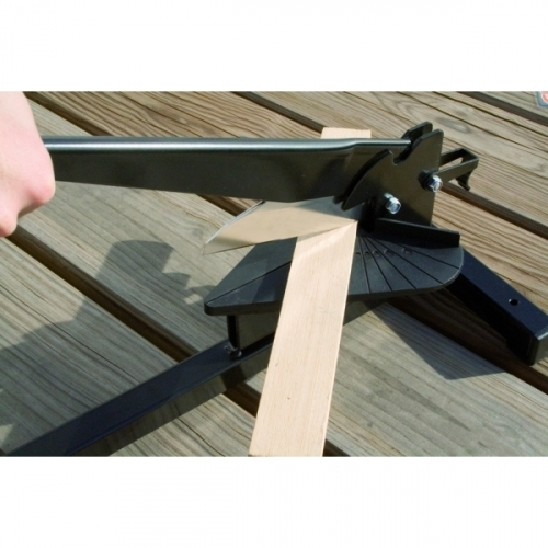 """CAMELEON 130 - Mitre guillotine with an interchangeable 5.1"""" (130 mm) stainless steel blade"""
