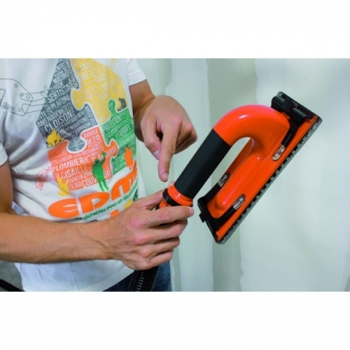 CLEAN SANDER - Pole sander adaptable on vacuum cleaner