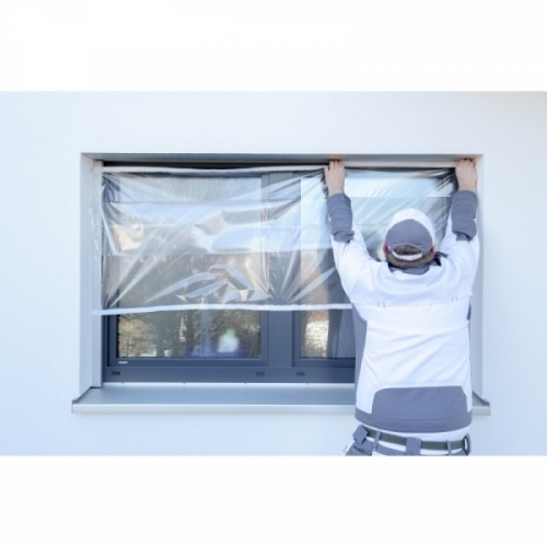 COVERSMART 120 - Expandable and adjustable self-adhesive protective film
