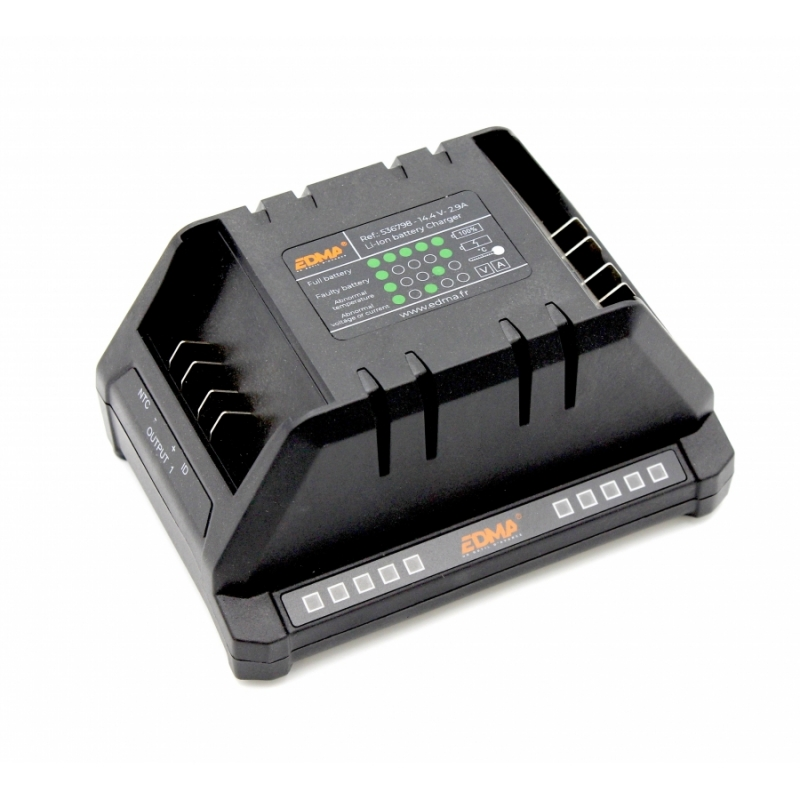 DOUBLE BATTERY CHARGER FOR EDMATYER